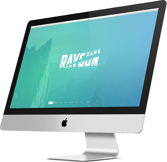 Raygun Website Design